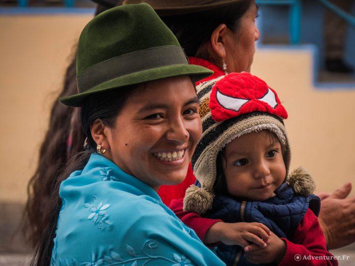 Le festival Corpus Christi en Equateur