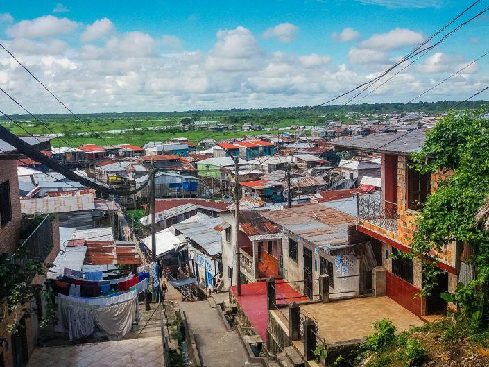 Iquitos en Amazonie